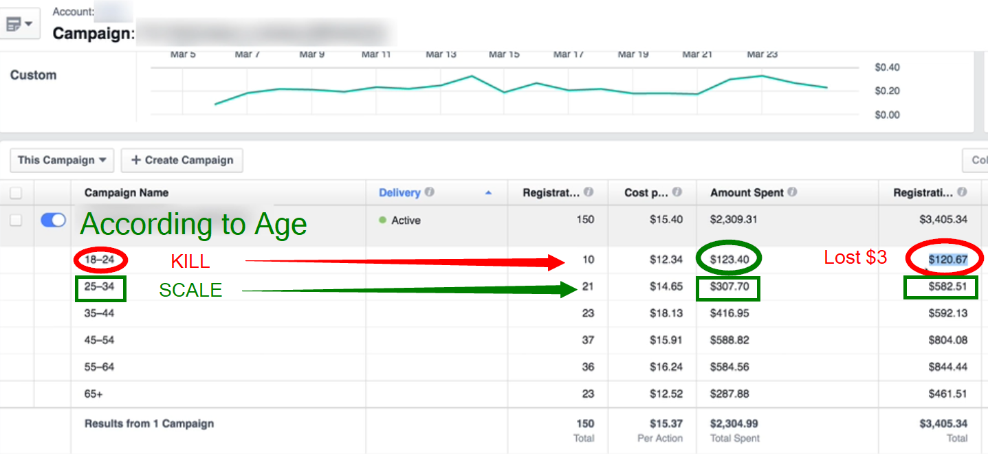 Advanced Split Testing: Whne to kill or scale your FB Ads
