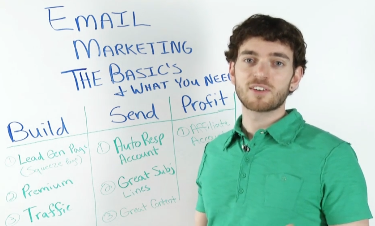Anthony Morrison presenting Email Marketing