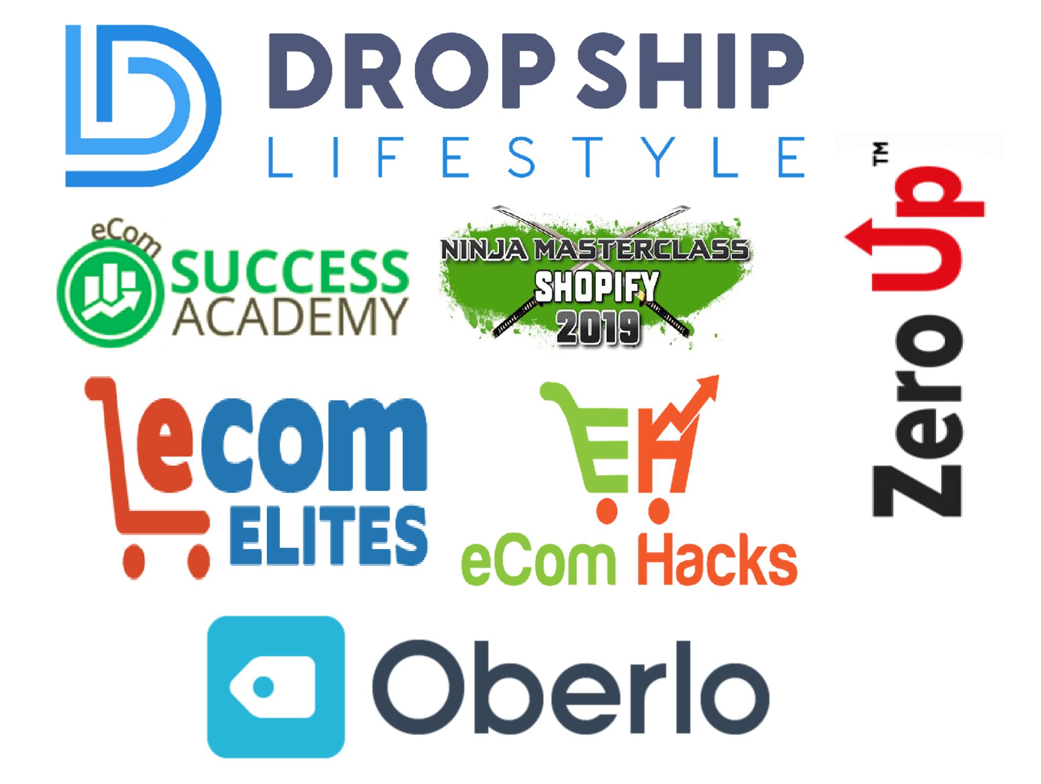 Ippei's Best Dropshipping Courses for 2019 Reviewed: I cover Drop Ship Lifestyle, eCom Success Academy, eCom Elites, Ninja Shopify  Masterclass, eCom Hacks, Oberlo 101 and Zero Up.