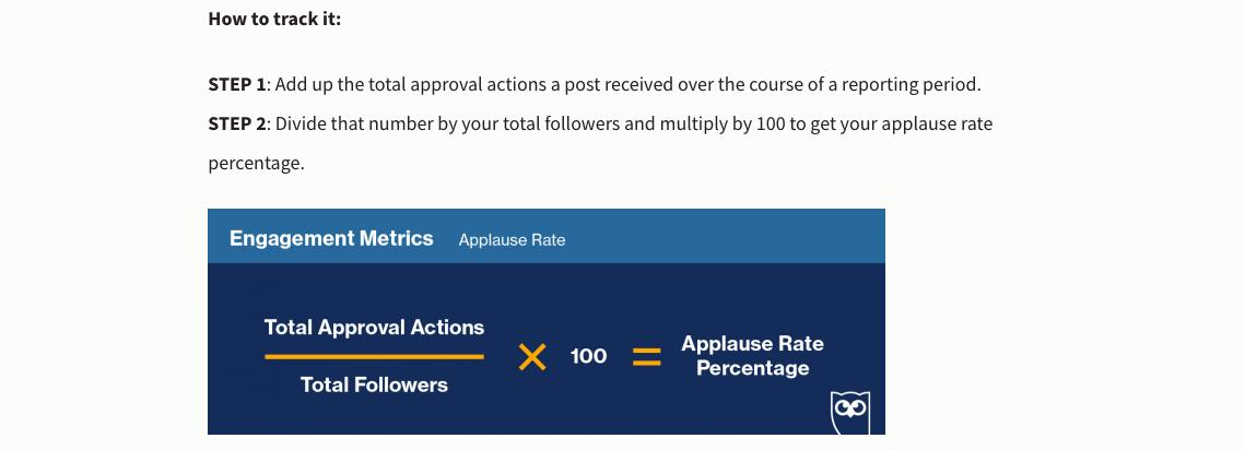 engagement social metric