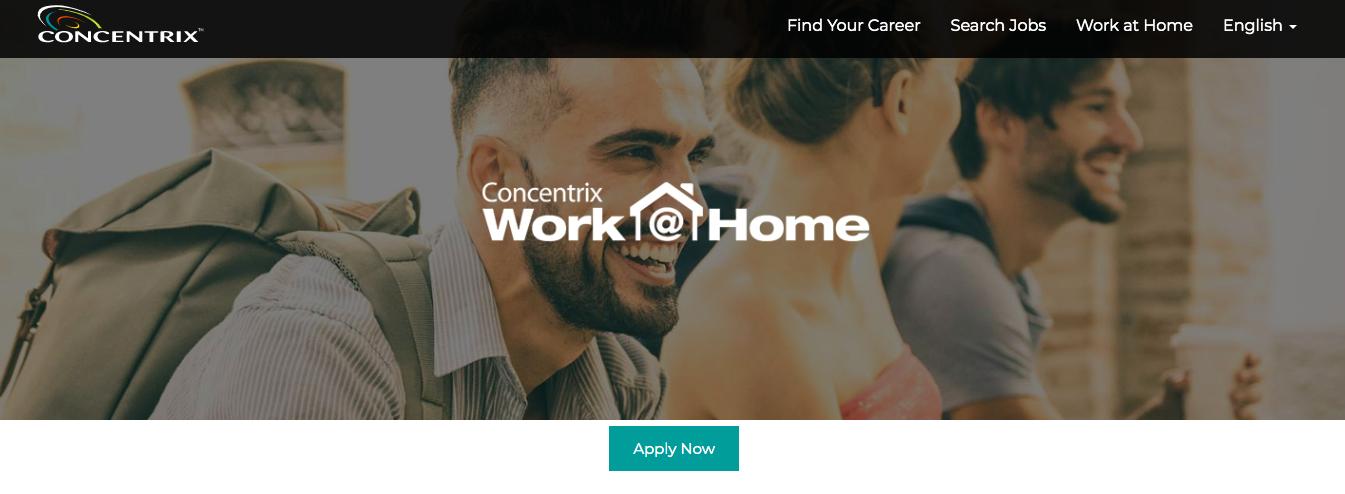 concentrix.com work at home jobs