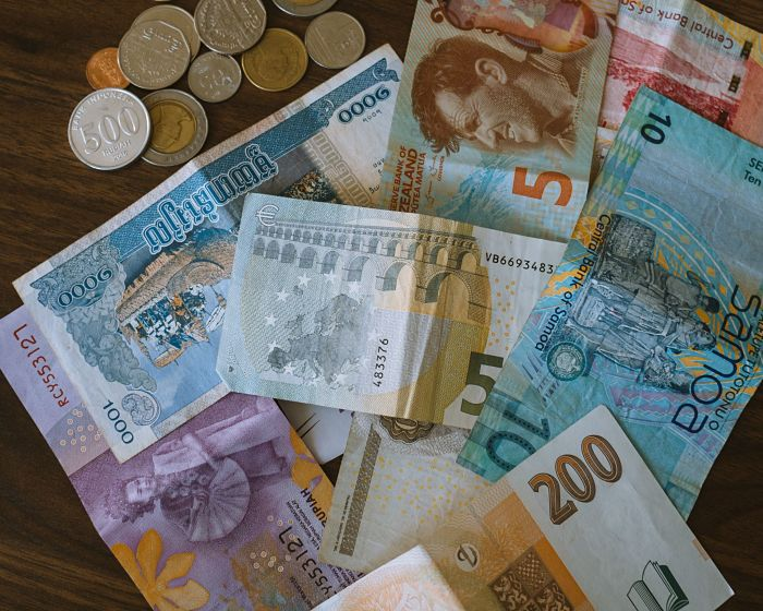 foreign currency photo