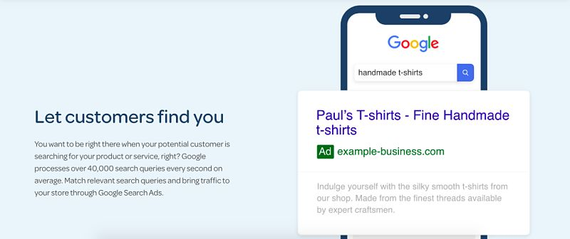 Let customers find you
