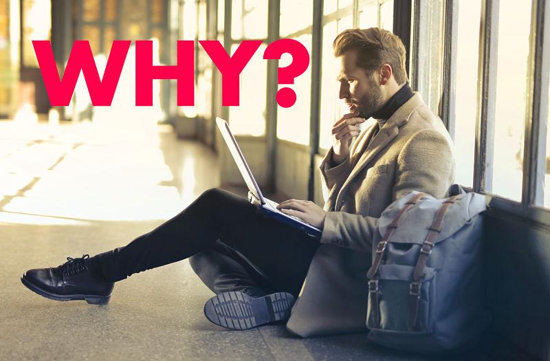 thinking why